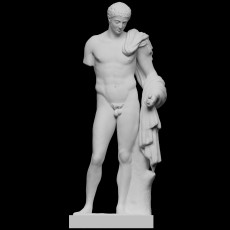 Hermes, god of travellers, known as the  Richelieu Hermes
