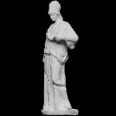 Athena, known as  Athena holding a cista