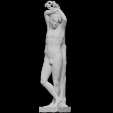 Narcissus, known as the  Mazarin Hermaphrodite  or  Genius of Eternal Rest