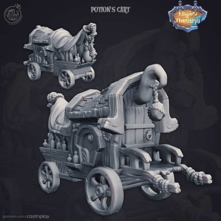 Potions Cart (Pre-Supported)