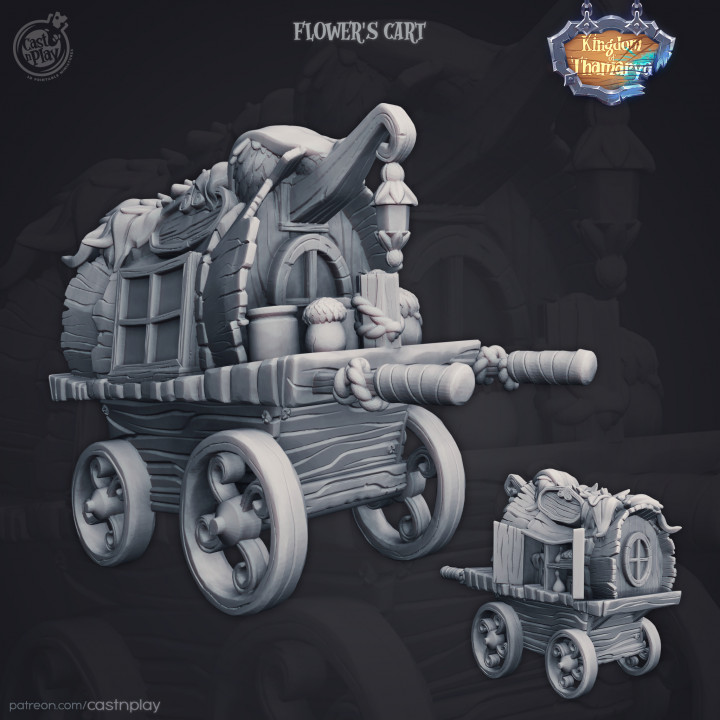 Flowers Cart (Pre-Supported)'s Cover