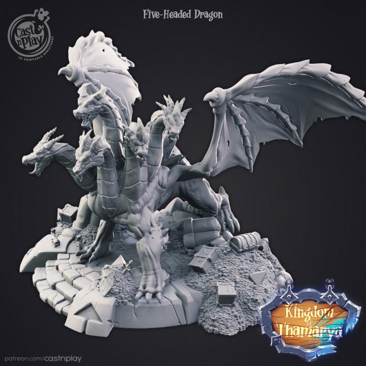Five-Headed Dragon (v.0.0)'s Cover