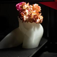 Female Torso Vase Planter