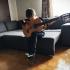 Guitar footstep image