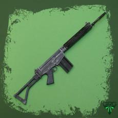 FN FAL 5063 PARA - scale 1/4