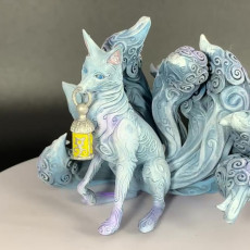 Picture of print of Kitsune - 9 tailed fox Miniature (60mm)