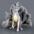 Kitsune - 9 tailed fox Miniature (60mm) image