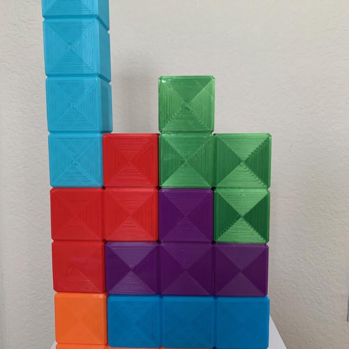 Tetris Block Decorations