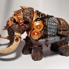Picture of print of War Mammoth