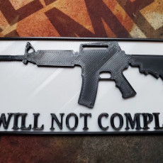 I will not comply.