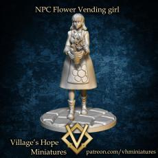 NPC Flower Vending girl