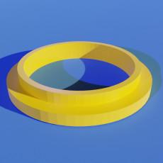 Door Cylinder Collar Ring Spacer