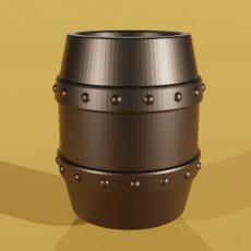 Simple Metal Barrel