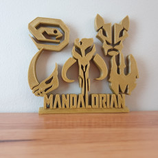 Mandalorian Ornament