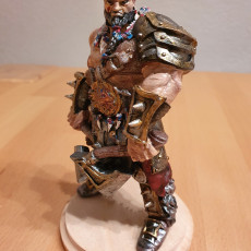 Picture of print of Barbarian Champion