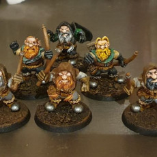 Picture of print of Dwarf Throng Bundle