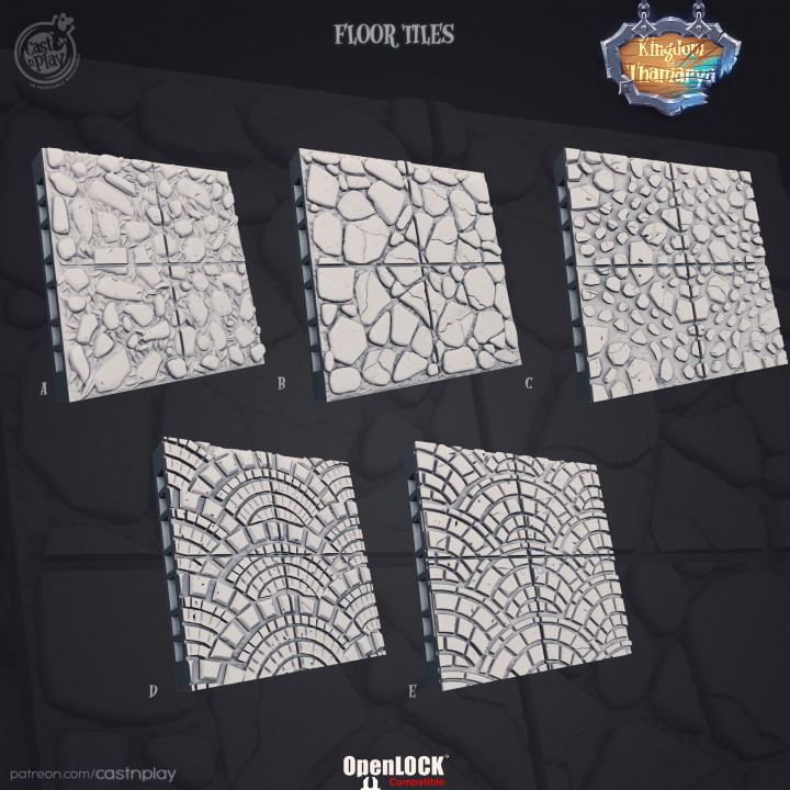 Kingdom Street Floor Tiles (Pre-Supported)'s Cover