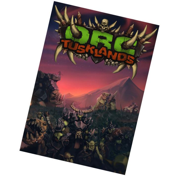 ORC: Tusklands (5e) Sourcebook's Cover