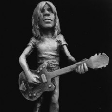 Malcolm Young - A pop Culture Inspired Big Head Figure Inspired  big head  Figure