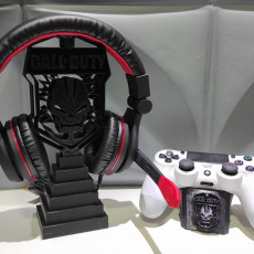Picture of print of Call of Duty Headphone Stand