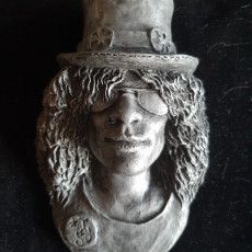 Slash - A pop Culture inspired bust/wall Hanging