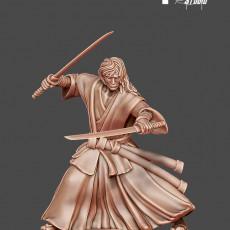 Samurai / Ronin - Gosai - 35mm scale