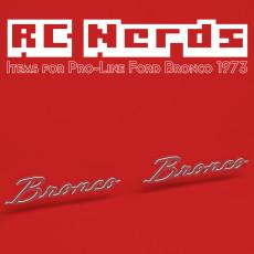 Emblem for Pro-line 1973 Ford Bronco
