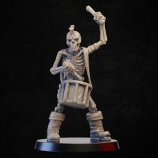 Skeleton with  drum