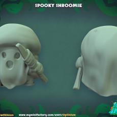 Spooky Shroomie Miniature