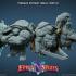 Teenage Mutant Ninja Tortle miniatures bundle - pre-supported image