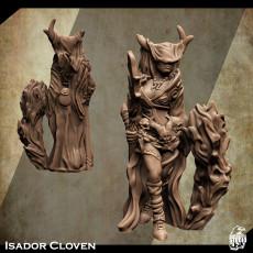 Support Free Sorceress Miniature Isador Cloven