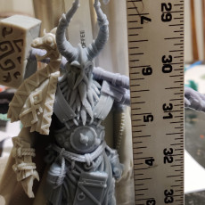 Picture of print of Barbarian Ice Giant