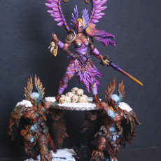 Picture of print of Barbarian Vindicta Raid Queen