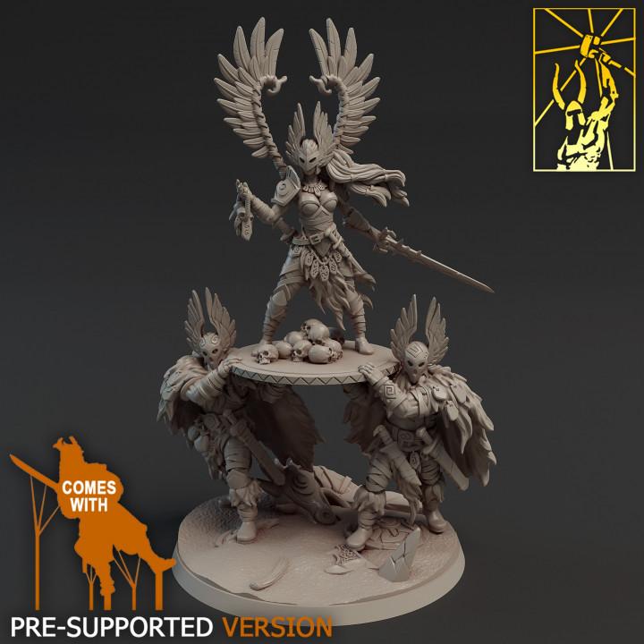 Barbarian Vindicta Raid Queen
