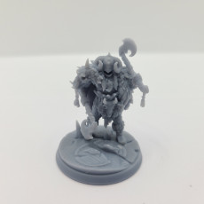 Picture of print of Barbarian Furiana, Gyratos and Tahnar Modular Heroes
