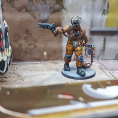 Picture of print of Cyber Forge Braker