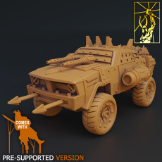 Cyber Forge Scrap Jeep
