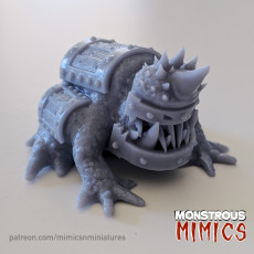 Crate Frog Mimic (Supported)