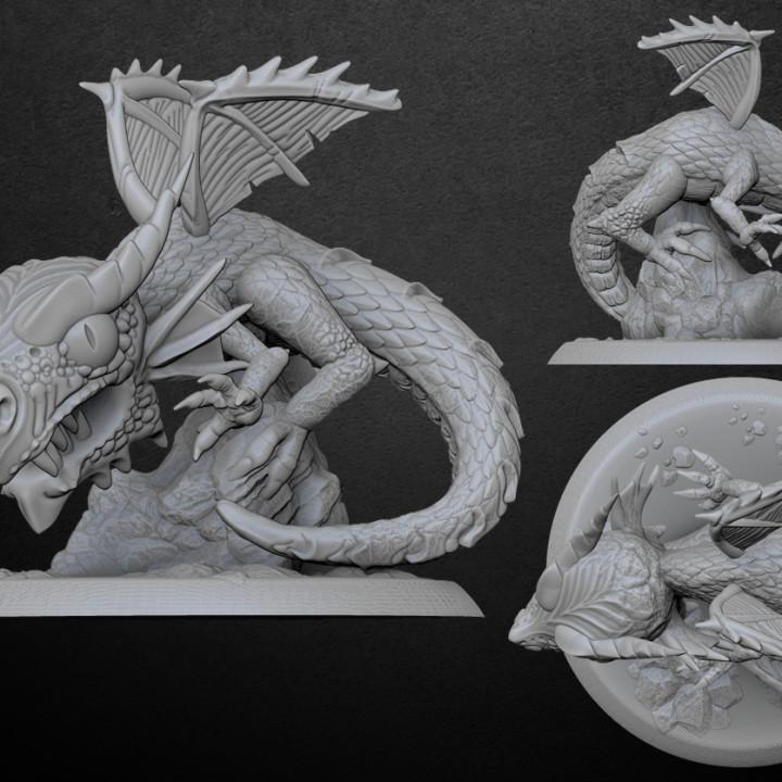 Red Dragon | Bonus Model's Cover