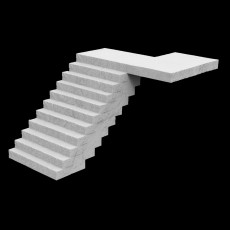 Stairs Decoration A1103