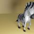 Low Poly Zebra image