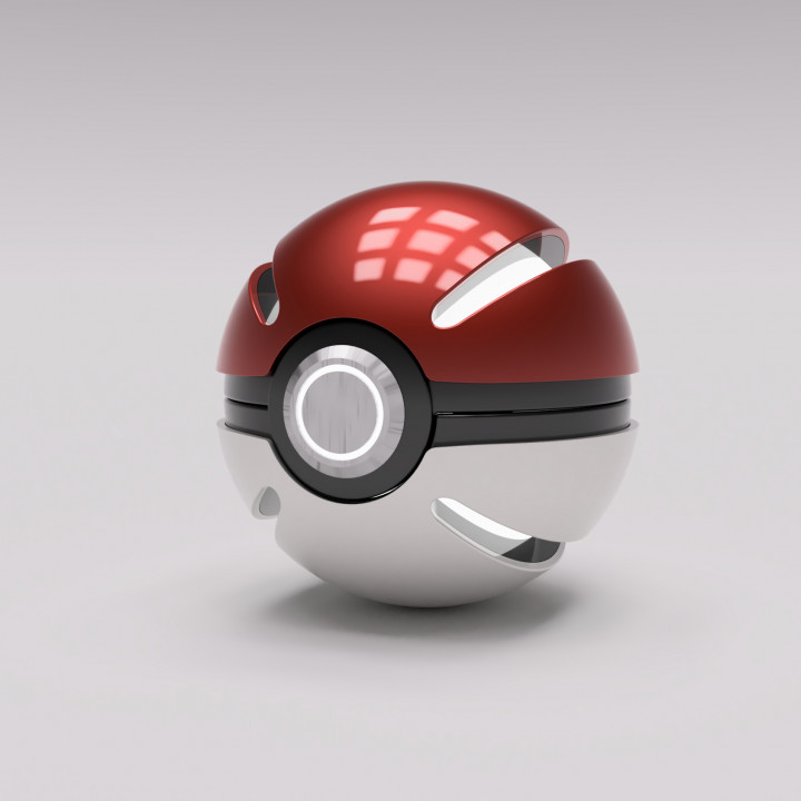 Pokeball Futuristic