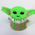 Flexi Articulated Baby Yoda (The Child) from The Mandalorian image