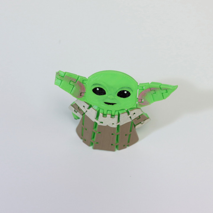 Flexi Articulated Baby Yoda (The Child) from The Mandalorian