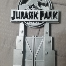 Picture of print of Jurassic Park Headphones Stand or Ornament
