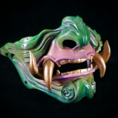 Picture of print of Samurai Mask Model 3