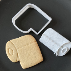 Toilet Paper Cookie Cutter
