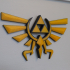 Hyrule Triforce Wingcrest - Legend of Zelda image