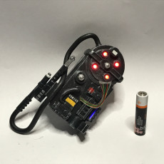 Proton Pack with lights