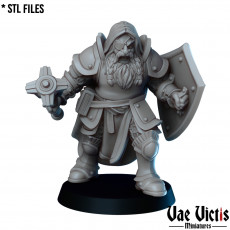 The Dwarf Cleric
